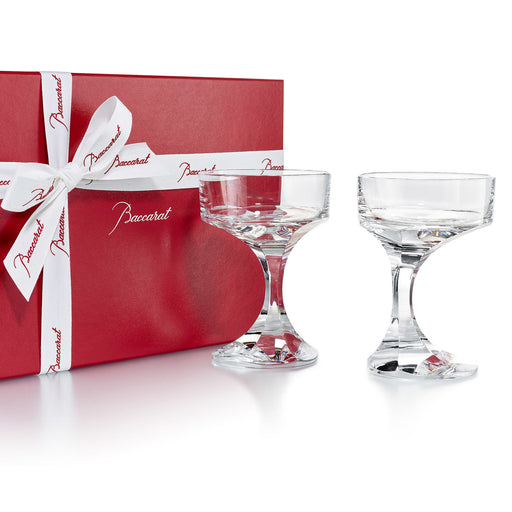 "Champagne Coupe Glass (Set x2) ""Narcisse"" - Baccarat"