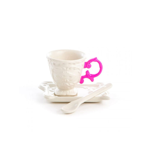 "Coffee Cup, Saucer & Spoon ""I-Wares"" - Seletti"