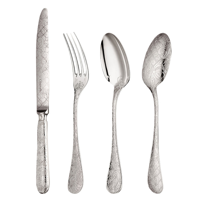 "48-Piece Sterling Silver Set ""Jardin d'Eden"" - Christofle"
