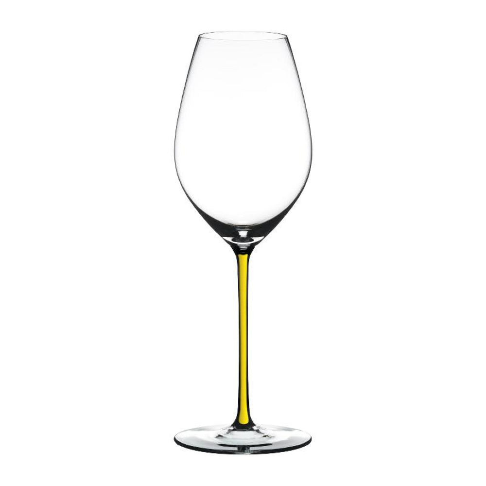 "Champagne Wine Glass Yellow ""Fatto A Mano"" - Riedel"
