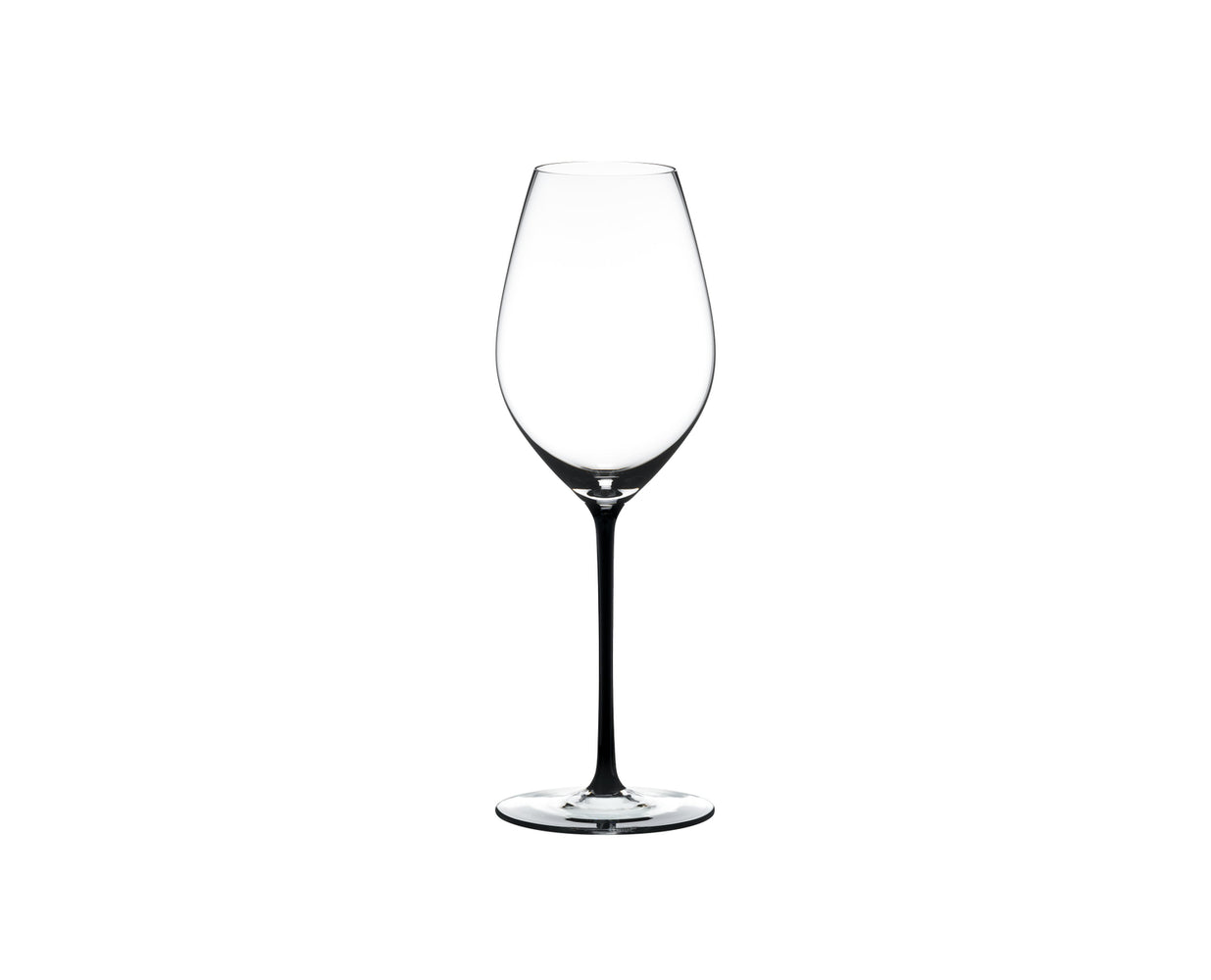 "Champagne Wine Glass Black ""Fatto A Mano"" - Riedel"