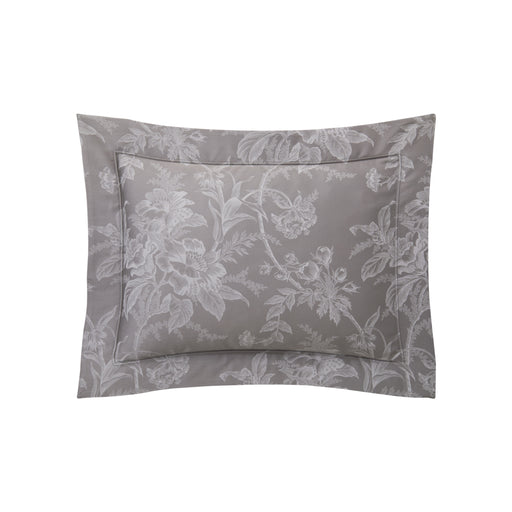 "Pillow Case ""Aurore Platine"" - Yves Delorme"