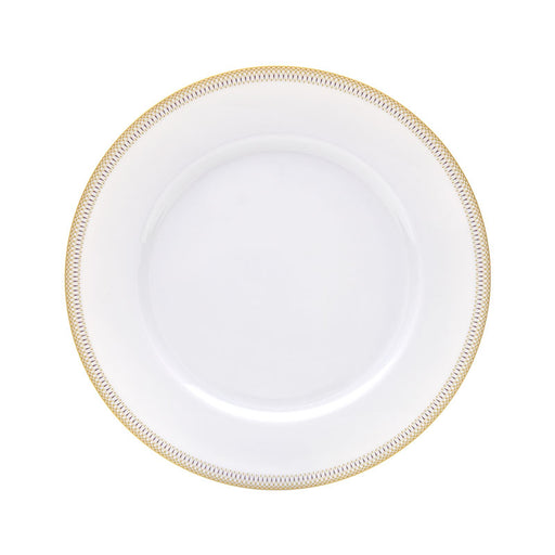 "Large Dinner Plate ""Magnolia"" - Haviland"