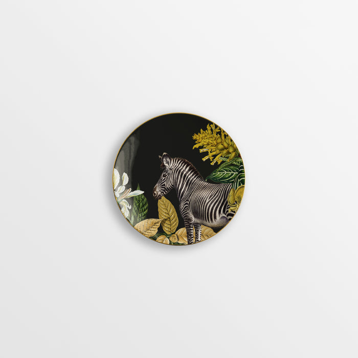 "Set of 6 Bread & Butter Plate ""Animalia"" - Vito Nesta"