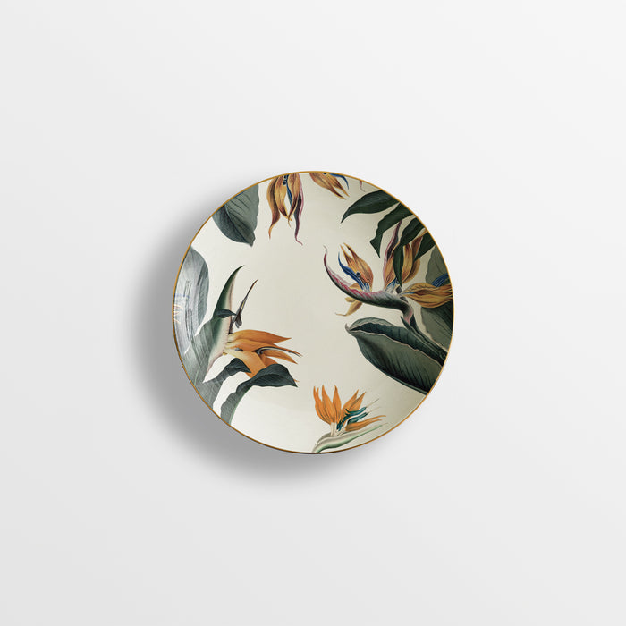 "Set of 6 Soup Plate ""Animalia"" - Vito Nesta"