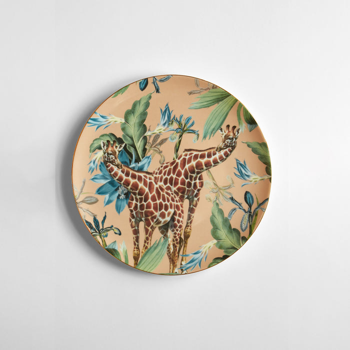 "Set of 6 Dinner Plate ""Animalia"" - Vito Nesta"