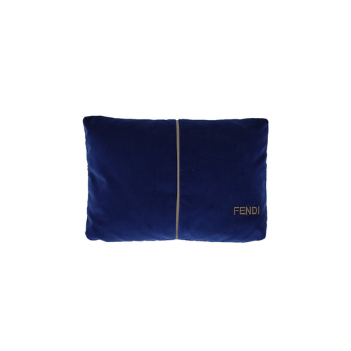 "Cushion ""Blue Leather"" - Fendi"