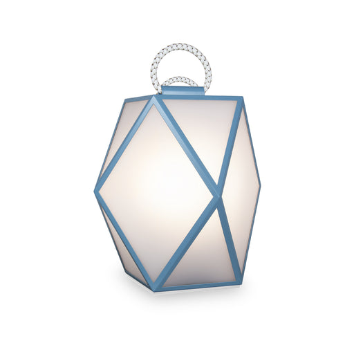 "New Lamp ""Muse"" Light Blue & White - Contardi"