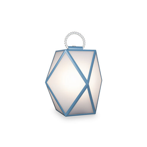 "New Lamp ""Muse Battery"" Light Blue & White - Contardi"