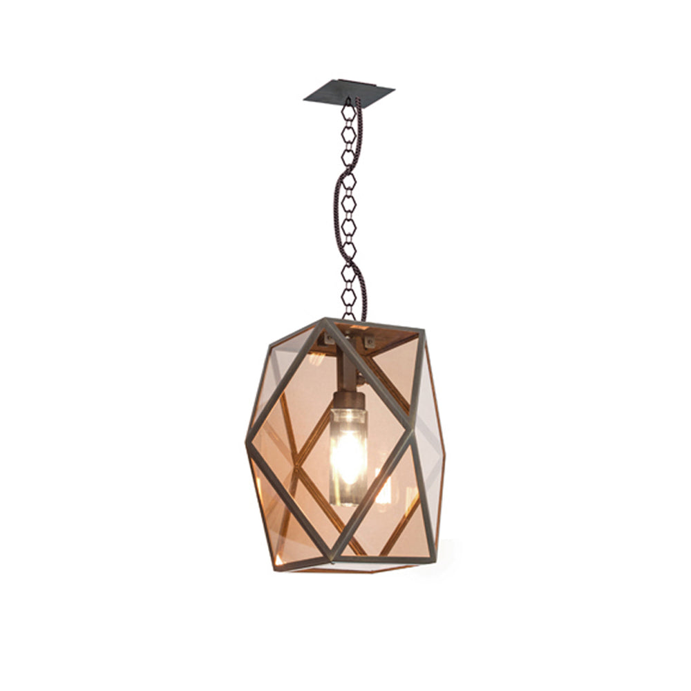 "Ceiling Lamp ""Muse"" Bronze - Contardi"