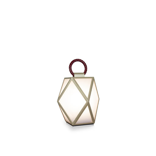 "New Lamp ""Muse Battery"" Champagne & Bordeaux - Contardi"