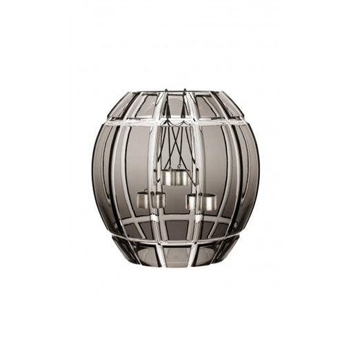 "Candle Holder ""Encage"" Flannel Grey - Saint Louis"