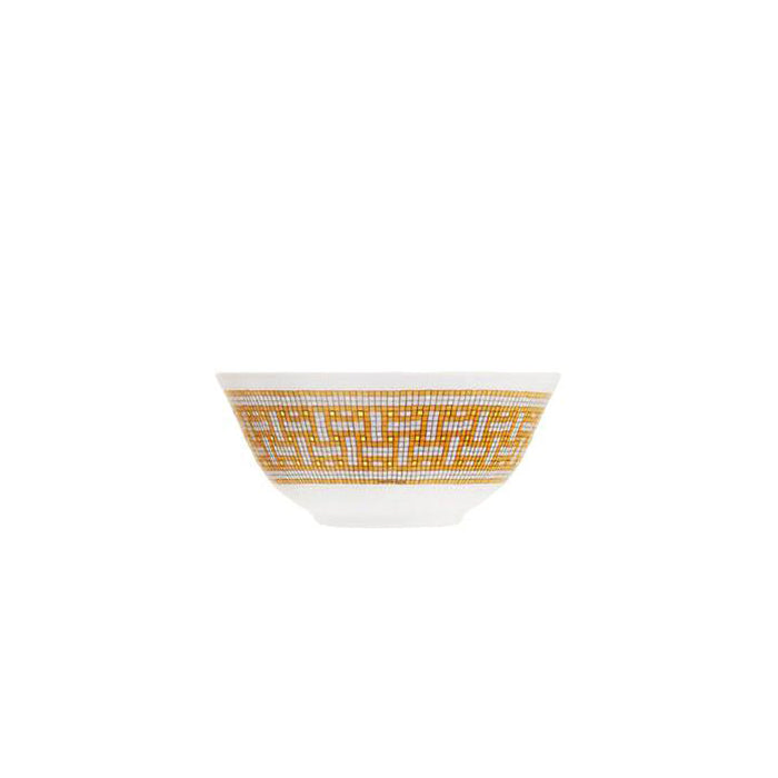 "Rice bowl ""Mosaique au 24 Gold"" - Hermes"
