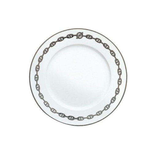 "Presentation Plate ""Chaine d'Ancre Platinum"" - Hermes"
