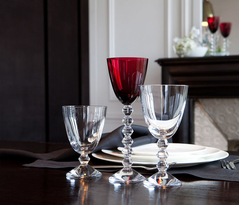 "Red Wine Glasses ""Vega"" - Baccarat"