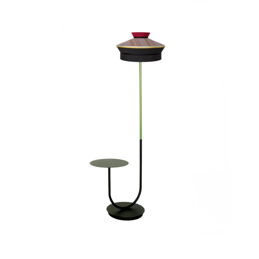 "Floor Lamp & Table ""Calypso Martinique"" - Contardi"