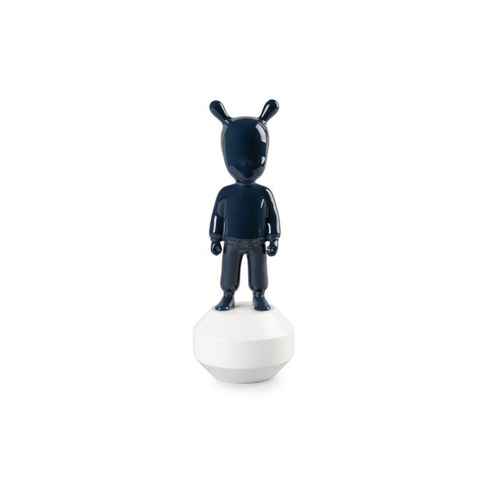 "Sculpture ""The Dark Blue Guest"" Small Model - Lladro"