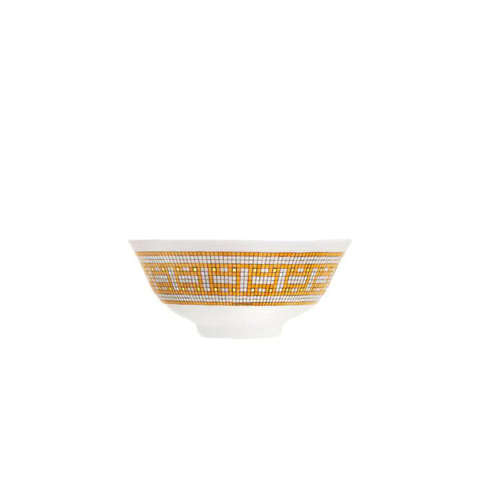 "Soup bowl ""Mosaique au 24 Gold"" - Hermes"