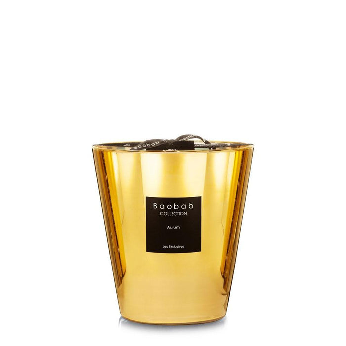 "Scented Candle ""Les Exclusives Aurum"" - Baobab"