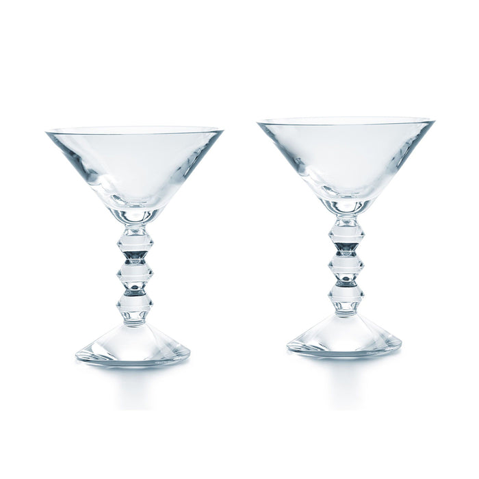 "Martini Glass Set x2 ""Vega"" - Baccarat"
