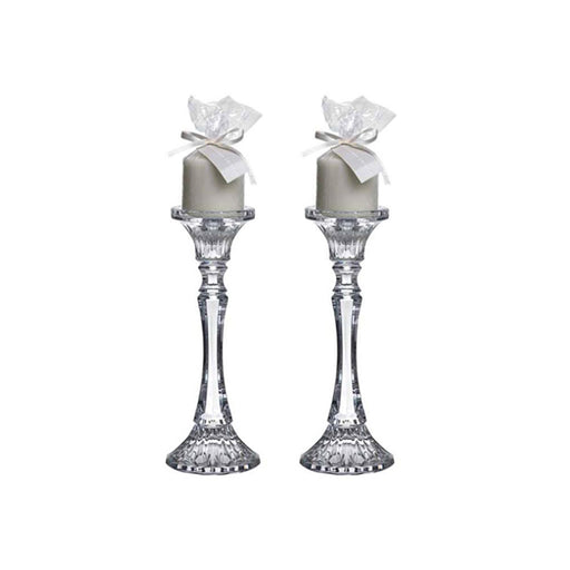 "Candle Holder ""Pilar"" Set of 2 - Rogaska SRL"