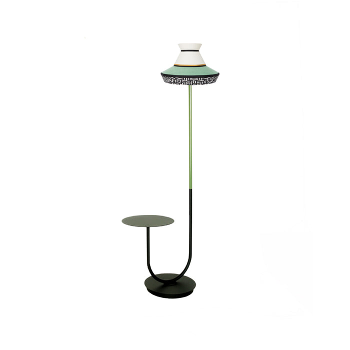 "Floor Lamp & Table ""Calypso Guadaloupe"" - Contardi"