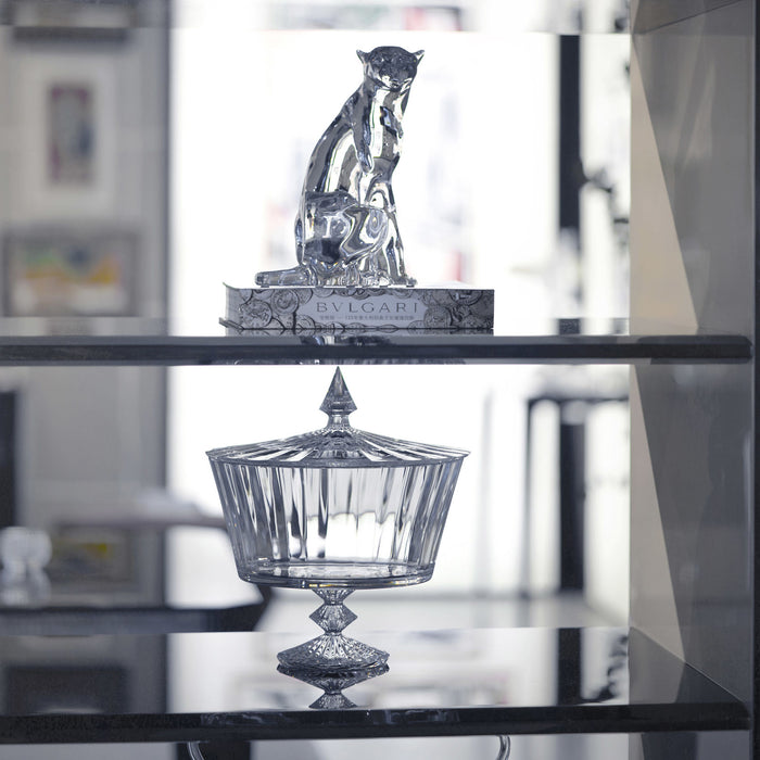 "Sculpture ""Cheetah on the watch"" - Baccarat"