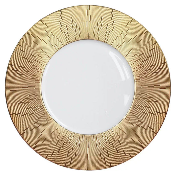 "Presentation Plate ""Infini Gold"" - Haviland"