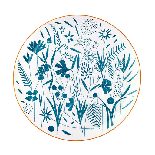 "Presentation Plate ""A walk in the Garden"" - Hermes"