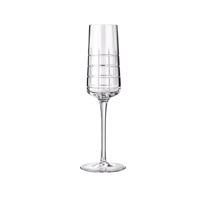 "Champagne Glass ""Graphik"" - Christofle"