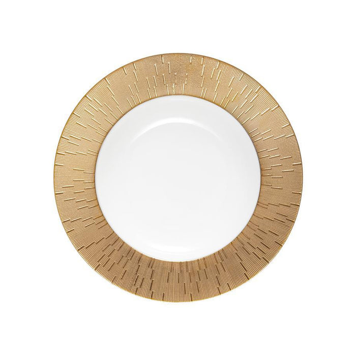 "Soup Plate ""Infini Gold"" - Haviland"
