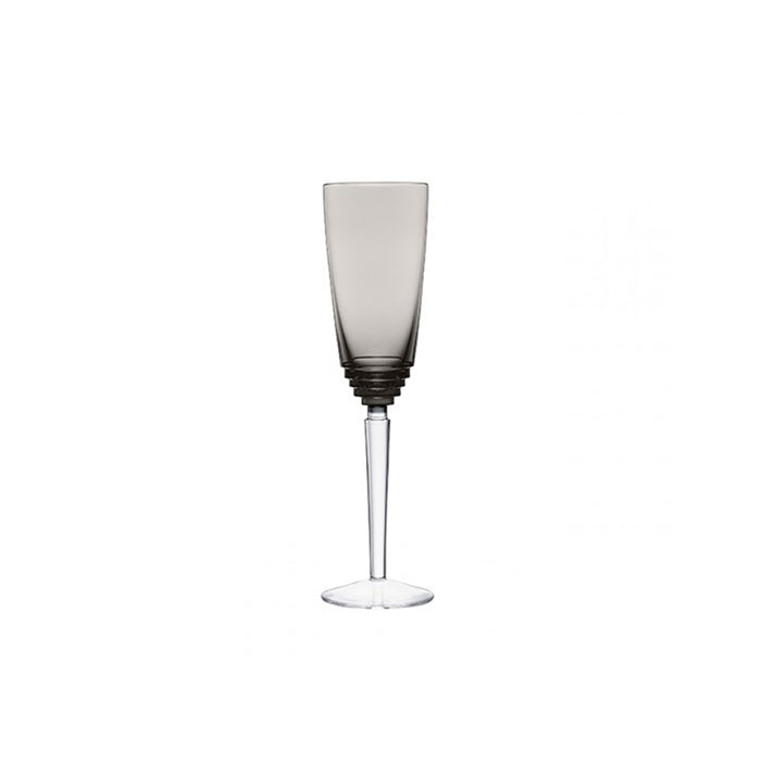 "Champagne Glass ""Oxymore"" - Saint Louis"