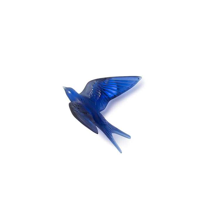 "Sculpture Swallow Wings Up Wall ""Hirondelles"" - Lalique"