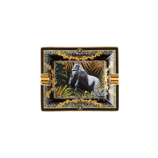 "Rectangular Ashtray Gorilla ""Le Regne Animal"" - Versace"