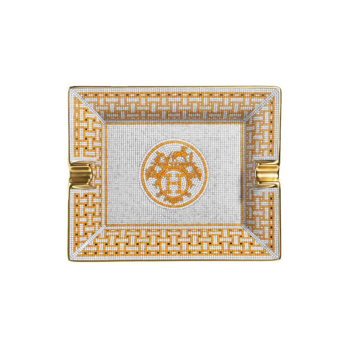 "Ashtray ""Mosaique au 24 Gold "" - Hermes"