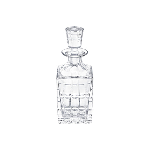 "Square Decanter ""Manhattan"" - Saint Louis"