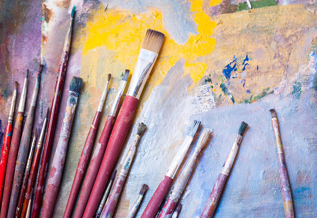 Art on a budget part one - brushes