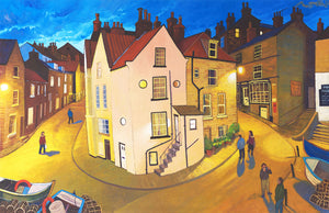 Robin Hoods Bay, Northeast Coast UK Chris Cyprus Art