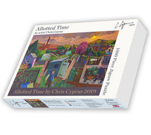 *EXCLUSIVE*  1000 piece Jigsaw Puzzle  - Allotted Time