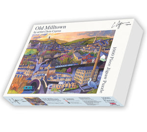 *Exclusive* 1000 piece Jigsaw Puzzle - Old Milltown