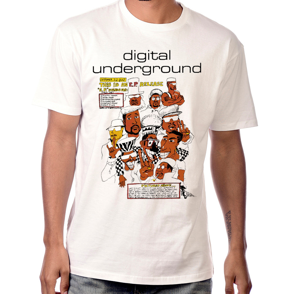 "Digital Underground ""This is an EP"" Graphic Tee"