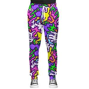 90s Glove Design All Over Print Joggers