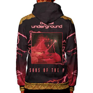 "Digital Underground ""Sons of the P"" All Over Print Hoodie"