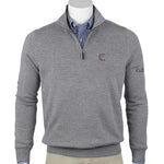 Baruffa Merino Quarter Zip Windsweater