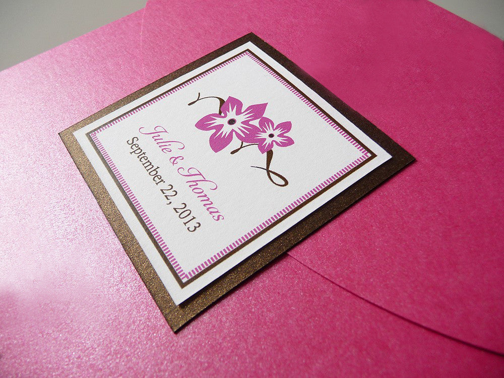 Sweet Blossoms Wedding Invitation