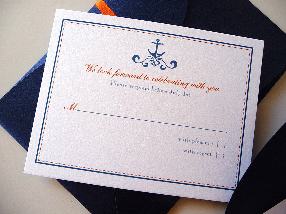 Love is a Voyage Wedding Invitations