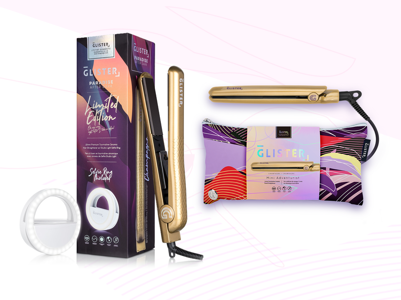 Limited Edition After Dark Flat Iron Golden Duo