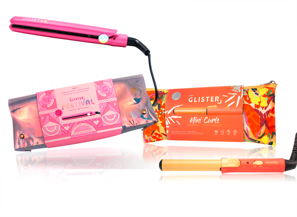 Festival Curl & Straighten Mini Duo - Pink Dream