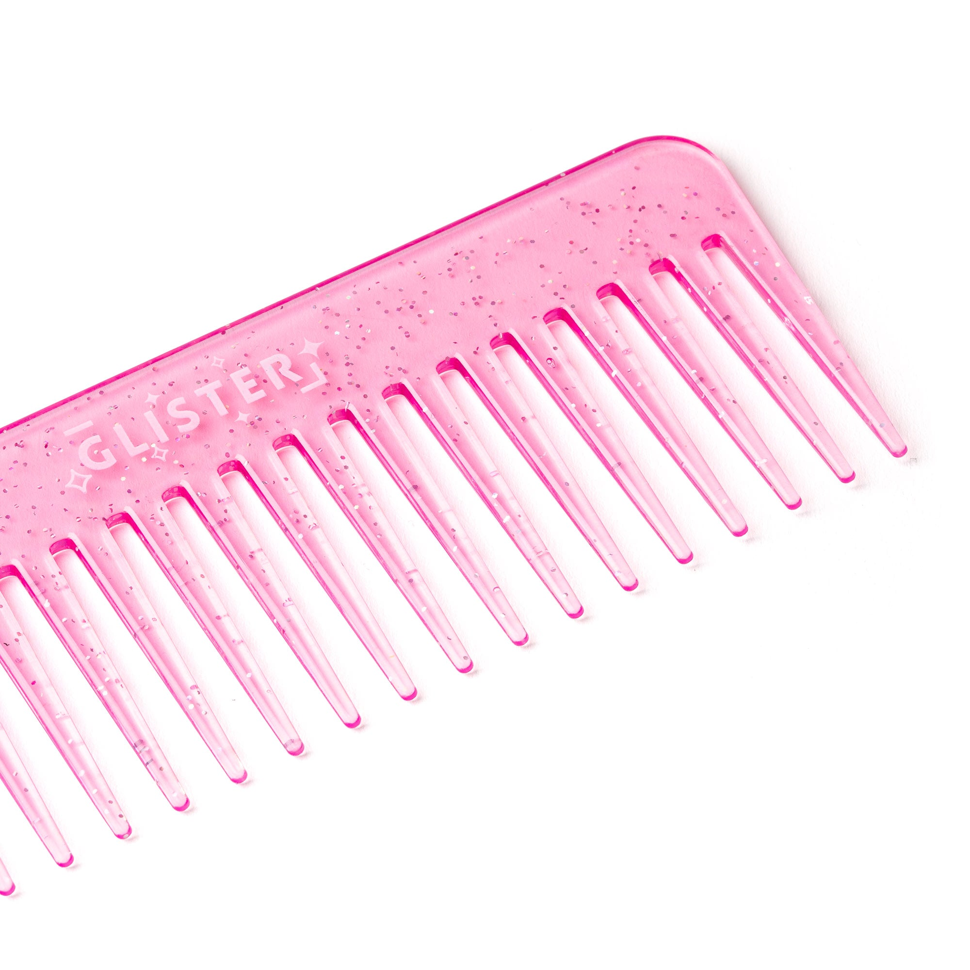 Paradise Detangling Wide-Tooth Comb - Pink