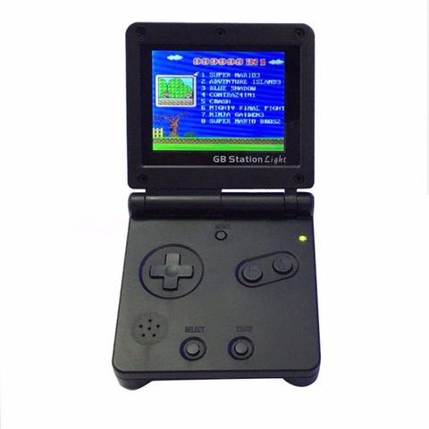 GB Station Konsole - GameBoy Pocket kompatibel mit 142 Spielen